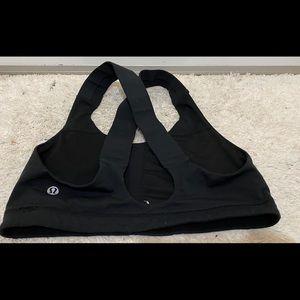 lululemon athletica Tops - lululemon sports bra Black . Size 9
